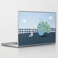 pigeon Laptop & iPad Skins featuring Pigeon by vainuidecastelbajac