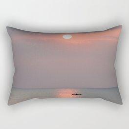 Longtail in Thailand Rectangular Pillow