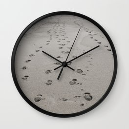 leaving traces Wall Clock