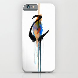 """Ha'a (The letter """"H"""" in English) iPhone Case"""