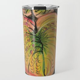 Hosta Leaves - Fall Travel Mug