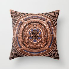 Aztec Tardis doctor who Sign logo Pendant Medallion iPhone 4 4s 5 5c 6, pillow case, mugs and tshirt Throw Pillow