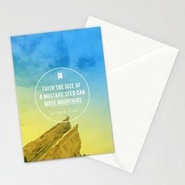 Matthew 17:20 Stationery Cards
