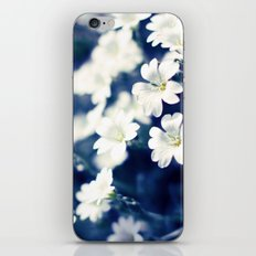 Flowers On A Cool Brooklyn Morning iPhone Skin