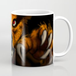 Nine-Tailed Beast from Naruto Coffee Mug