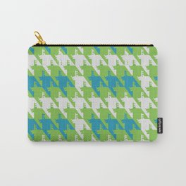Where is the reindeer of Santa?_L  Lgray&Lime Carry-All Pouch