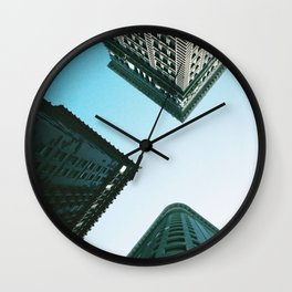 View from 4th and Wood in Pittsburgh, PA Wall Clock