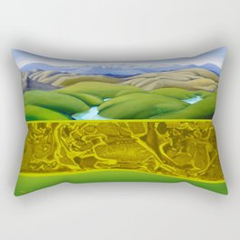 The Lie of the Land: Tararua Rectangular Pillow