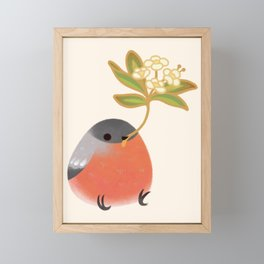 Eurasian bullfinch 2 Framed Mini Art Print