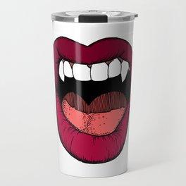 Vamp Lip Travel Mug