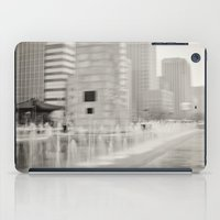 seoul iPad Cases featuring Abstract Seoul by Zayda Barros