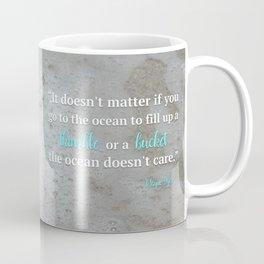 Thimble or Bucket Coffee Mug