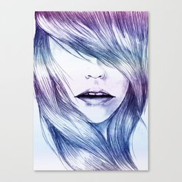 Winter Blur Canvas Print