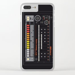 Roland TR-808 Drum Machine Clear iPhone Case