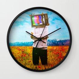 Transmitter Interference Wall Clock
