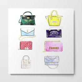 Bags bags bags Metal Print