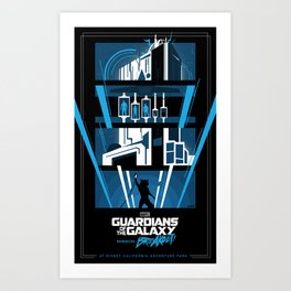 Guardians of the Galaxy - Mission: BREAKOUT! Poster Art Print