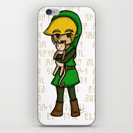 Wind Waker Link and Cat iPhone Skin