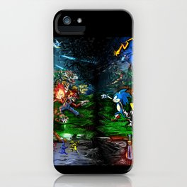 Nintendo Vs Sega iPhone Case