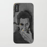 stiles iPhone & iPod Cases featuring nogitsune!stiles by steammmpunk