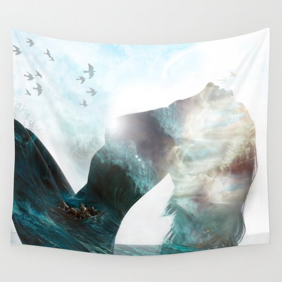 Inner Storm Wall Tapestry