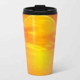 Sonne über dem Meer Travel Mug
