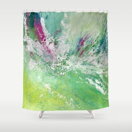100 Days of Color: Day 4 Shower Curtain