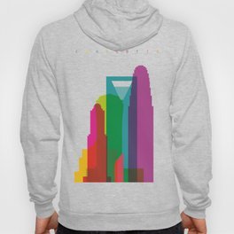 Shapes of Charlotte accurate to scale Hoody