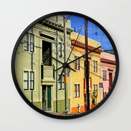Eenie, Meenie, and Miney Wall Clock