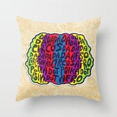 Circus Afro! Circus Afro!  Throw Pillow
