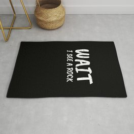 Geology Gift I See A Rock Funny Geologist Rug