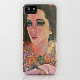 The morning when you has me to leave iPhone Case