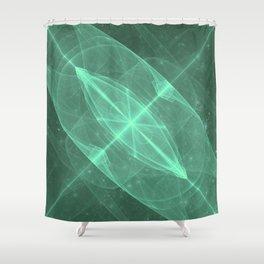 Green Galaxy of Sir Douglas Fresh [Torus of Love Version] Shower Curtain