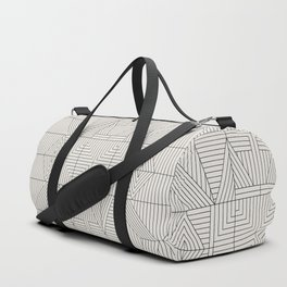 LINE MANDALA Duffle Bag