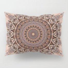 Mandala romantic pink Pillow Sham