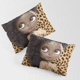 ERREGIRO BLYTHE CUSTOM DOLL ANIMAL PRINT JANET Pillow Sham