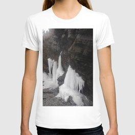 Coastal Waterfall Ice T-shirt