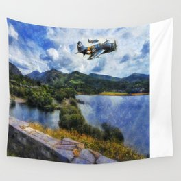 Lake Flight 1940's Wall Tapestry