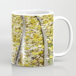 Park in the center of Turin in the autumn Coffee Mug