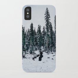 Dusting of Snow iPhone Case