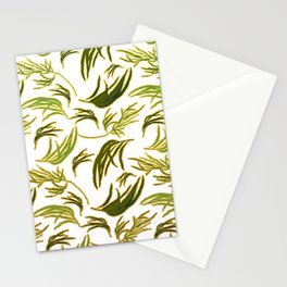 Gorgeous Australian Eucalyptus Leaves Stationery Cards