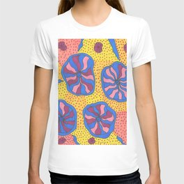 Colorful Retro Abstract Funk T-shirt