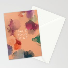 Pace Yourself Stationery Cards