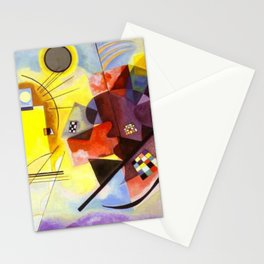 Wassily Kandinsky Yellow Red Blue Stationery Cards