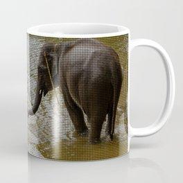 Elephants - Mat Design Coffee Mug