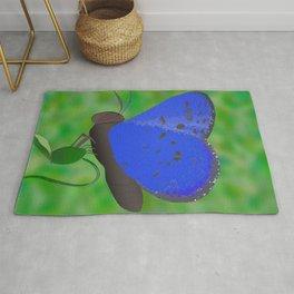 Karner Blue Butterfly Rug