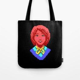Meet Nancy Maple - The Crimson Diamond Tote Bag