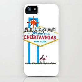 Welcome to Cheektavegas iPhone Case