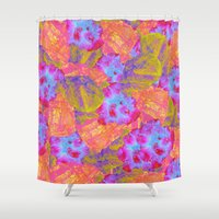 mineral Shower Curtains featuring Mineral Bath by Tyler Spangler