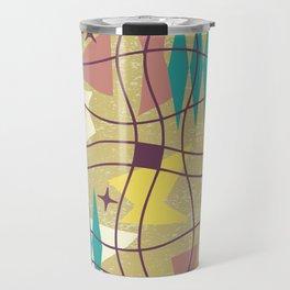 Mid Century Modern Abstract Pattern 576 Travel Mug